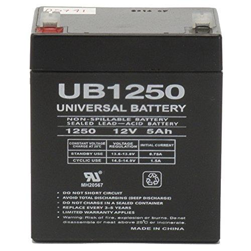 New 12 volt 5 amp hour 12V 5ah Sealed Lead Acid Battery ADEMCO Alarm System