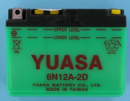 6N12A-2D YUASA BATTERY