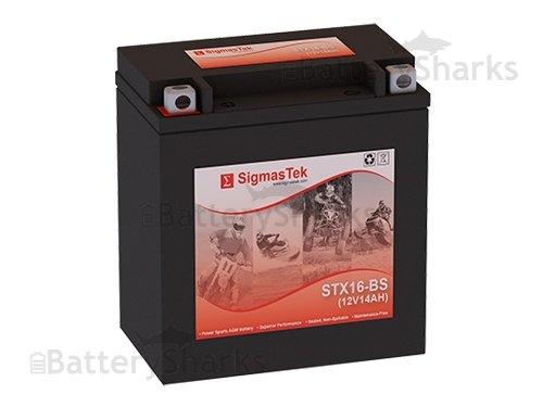 Yuasa Battery YTX16-BS Maintenance Free Battery ea for 2004-2012 Kawasaki VN2000-ADEF Vulcan YTX16-BS