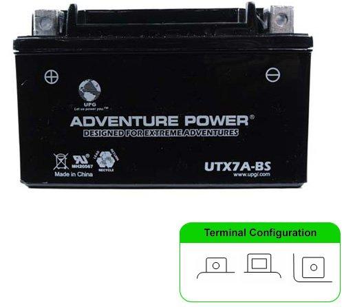 Yuasa Battery YTX7A-BS YUASA BATTERY Batteries Maint Free VRLA Battery - YUAM32X7A