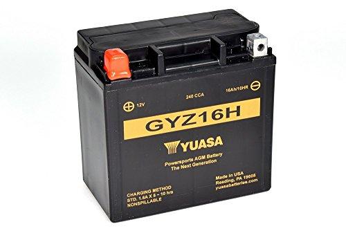 Yuasa YUAM716GH GYZ16H Activated Battery