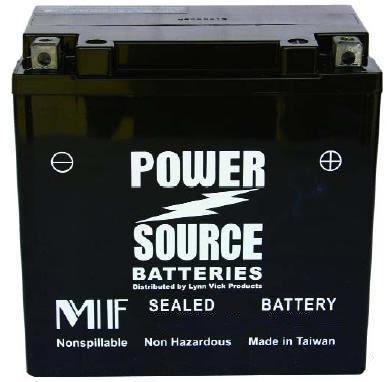 2008-2011 Kawasaki KFX450R ATV High Performance Sealed Battery