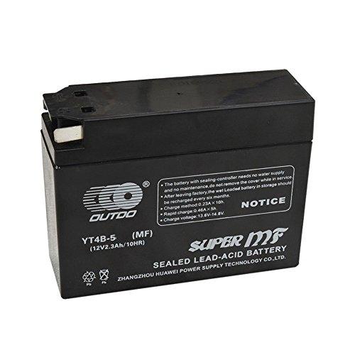 AGM GEL Sealed Battery YT4B-5 MF Yamaha TTR50E TTR90 SR400 VINO YJ50R