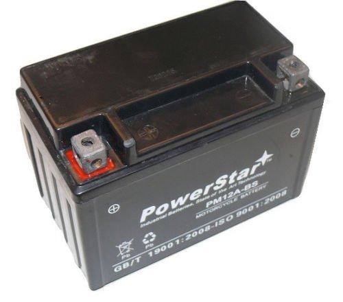 AGM YT12A-BS Sealed Battery for Suzuki GSXR GSX-R 750 1000 1300 Hayabusa TL1000R