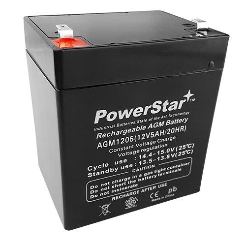 PowerStar 12V 5Ah ATV Go Kart sealed BATTERY 50 70cc 110cc 125cc 2 Year Warranty