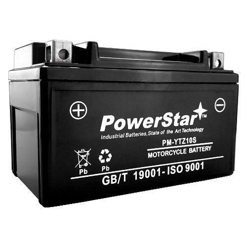 YTZ10S Sealed Battery for 2004-2010 Yamaha Raptor YFM 350 LTR-450 QuadRacer
