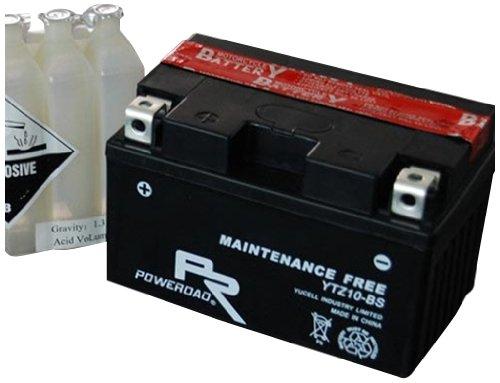 Poweroad BAT-YTX9-BS Maintenance Free 12V BatteryAcid Pack