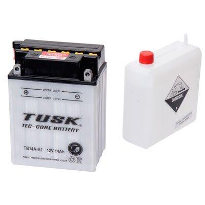 Tusk Tec-Core Battery with Acid TB14AA1 -Fits Yamaha BIG BEAR 4x4 350 1987-1999