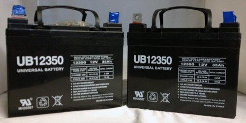 12V 35AH Sealed Lead Acid SLA Battery for UB12350 Invacare PRONTO M50 M6 M71 - 2 Pack