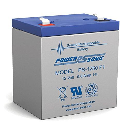12V 5AH Sealed Lead Acid SLA Battery for NP4-12 NP5-12 NPH5-12 NPX-25