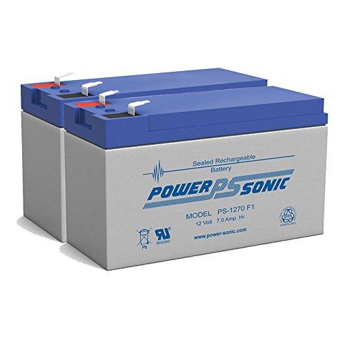 12V 7AH Sealed Lead Acid SLA Battery for BB BP7-12T2 BP7-12 T2 - 2 Pack