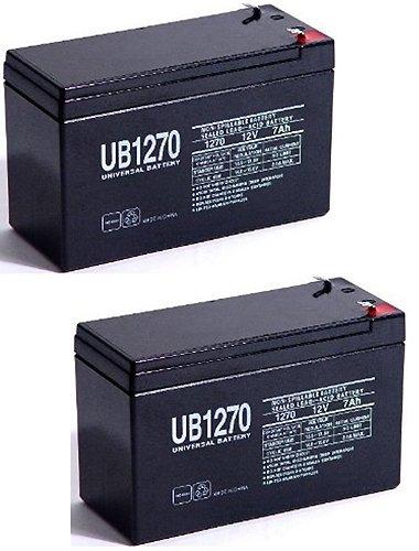 12V 7AH Sealed Lead Acid SLA Battery for GP1272 F2 GP 1272 - 2 Pack
