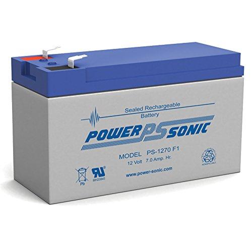 12V 7AH Sealed Lead Acid SLA Battery for Piranha MAX 160 Fish Finder