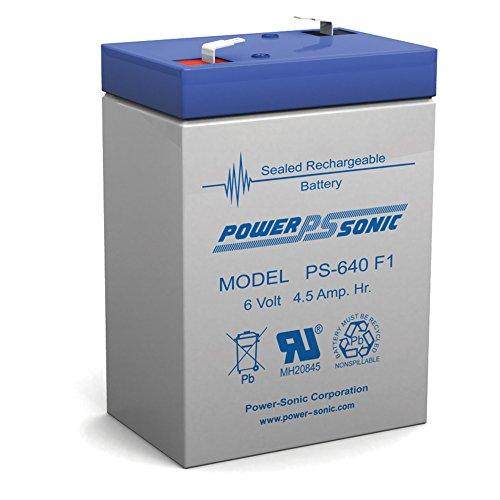6 Volt 4AH Rechargeable Sealed Lead Acid SLA Battery 6 volt 4amp
