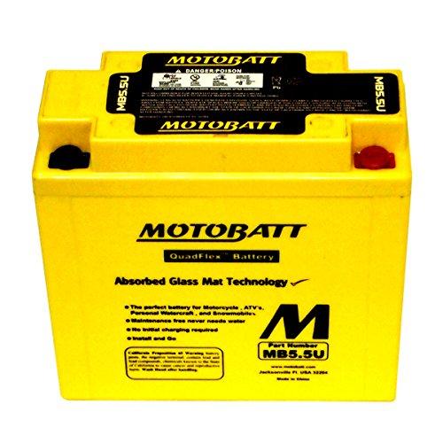 NEW MotoBatt Battery For Vespa P125X P150X P200E PX125 PX150 PX200 Scooters