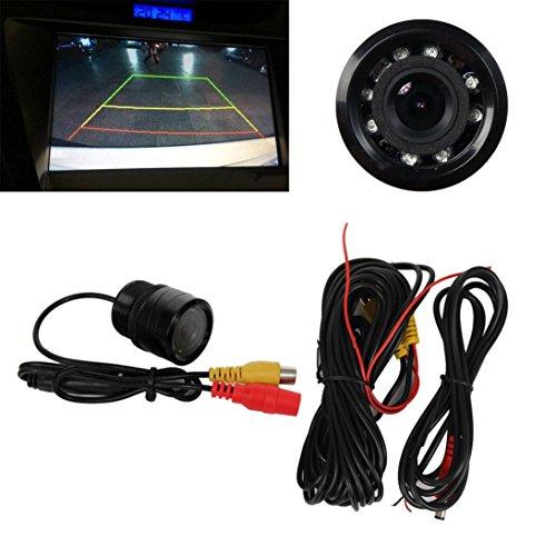 Car Video Recorder 170° Anti Fog Night Vision Waterproof Car Rear View Reverse Backup Camera