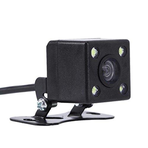 Car Video Recorder 170° CMOS 4 LED Car Rear View Backup Parking Camera HD Night Vision Waterproof