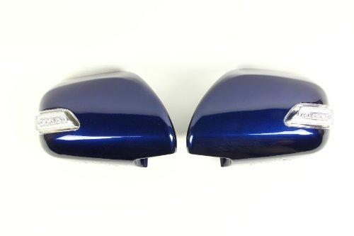 Valenti Jewel LED door mirror winker Hiace 200 series clear  chrome  blue DMW-200CB-8P4