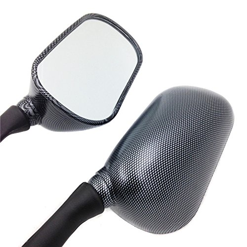 Motorbike Oem Aftermarket Mirrors Fit For 1998-2002 Yamaha Yzf R6 R1 Yzf-R1 Yzf-R6 Carbon