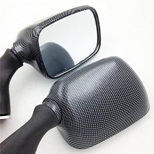 XKH Group Motorcycle OEM Aftermarket Mirror for Suzuki GSXR600 750 01 03 1300 R Hayabusa 1999 2012 CARBON NEW