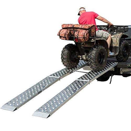 Aluminum Dual Runner 144 x 14 Big Boy EZ Rizer ATV Loading Ramps