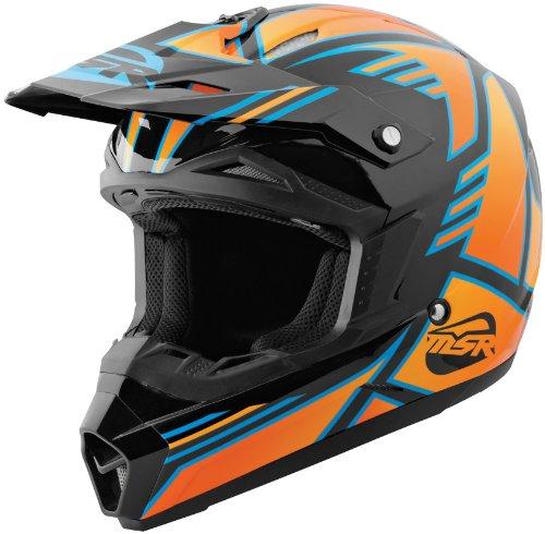 MSR Helmet Visor for Assault Graphic Helmet - BlackOrange 359403