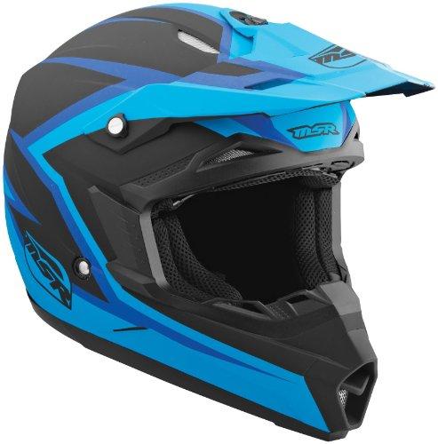 MSR Helmet Visor for Assault Graphic Helmet - BlueBlack 359402