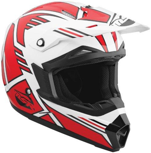 MSR Helmet Visor for Assault Graphic Helmet - RedWhite 359401