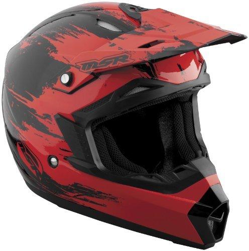 MSR Helmets 359303 M13 ASSAULT VISOR RED