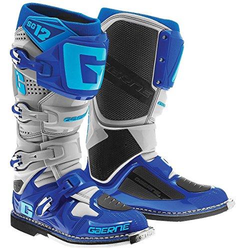Gaerne SG12 Mens BlueGrey Motocross Boots - 13