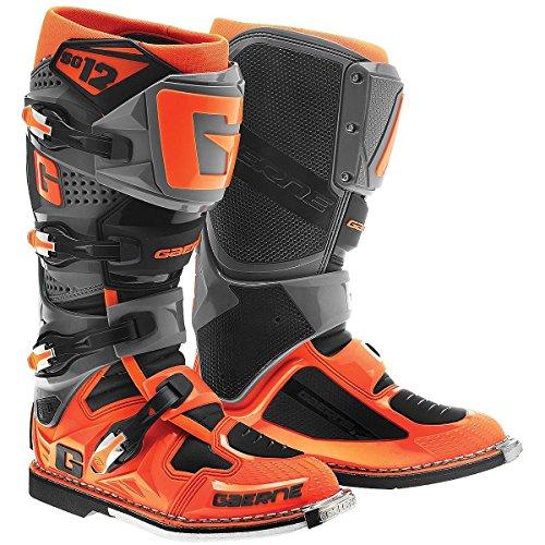 Gaerne SG12 Mens OrangeBlack Motocross Boots - 10