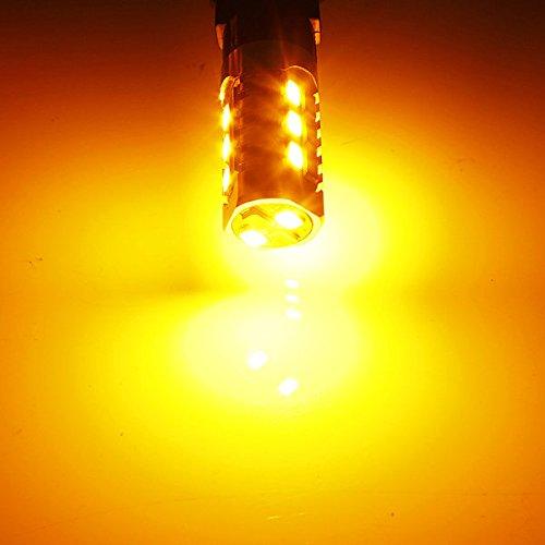 Pink Lizard AmberWhite 3157 3757 Switchback LED Turn Signal Light BulbResistor