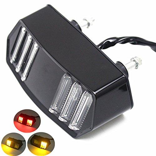 E-Bro Motorcycle LED Turn Signal Tail Light Brake Stop Running Indicator Integrated Signal Lights for Honda MSX125SF GROM CBR650F CTX700 CTX700N