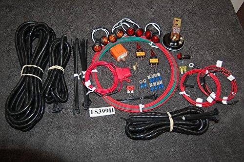 LED Turn Signal Kit Polaris RZR Ranger General wHORN STREET LEGAL