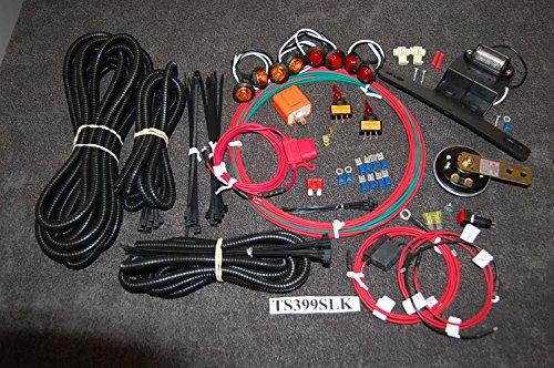 SXS LED Turn Signal Kit Honda Yamaha Kawasaski Can-Am wHORN Street Legal KIT
