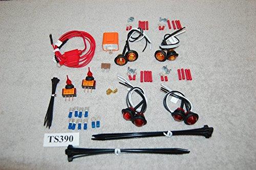 SXSUTV UNIVERSAL TURN-SIGNAL LED LIGHT KIT TS390