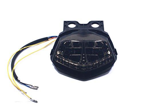 Motorcycle Led Integrated taillight brake light stop lamp For Kawasaki Ninja250 Ninja 250 Sequential Turn Signal 2008 2009 2010