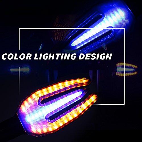 2Pcs Universal LED Motorcycle Turn Signal Light for Honda Grom MSX125 VFR1200F CBR1000RR CBR650F CBR250R CBR600RR Kawasaki NINJA 250R 650R Z800 Z125 Z800 Suzuki GSXR 600 750 1000