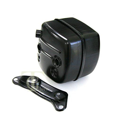 Exhaust Muffler Ported Bracket W Gasket Fit Husqvarna 365 371 372 XP 385 390XP New