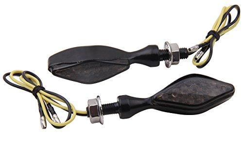 2 PCS Short Stalk mini LED Turn Signals Lights Blinkers for 2012 Honda XR650L