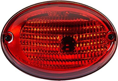 HELLA H24130041 3130 Agroluna Series 100 Watt 12-36 V P215W Type Heavy Duty Surface Mount Red StopTurn Lamp