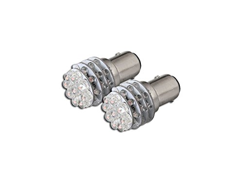 2X PINK 1157BAY15D 36 COUNT LED LIGHT BULB FRONT TURN SIGNAL LAMPS 1016 1034