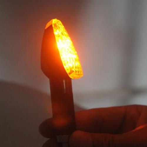 Hot Motorcycle Motorbike Turn Signal LED Indicator light Carbon