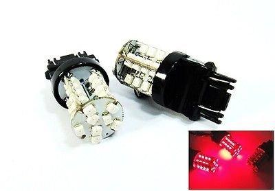 LEDIN A Pair of Red 3156 40 SMD LED Brake Light 3157 3457 3057