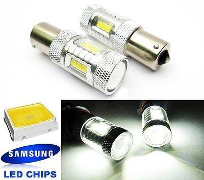 LEDIN 2x SAMSUNG 15 SMD 1156 Projector LED Tail Light Bulb 7506 P21W BA15s