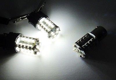 LEDIN A Pair of 7440 White 40 SMD LED Tail Light Bulb 7443 7441 992 T20