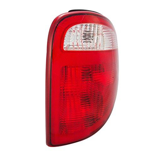 CarPartsDepot 01 02 03 Caravan Voyager Right Tail Lamp CH2801140 Rear Brake Light Lens Body RH