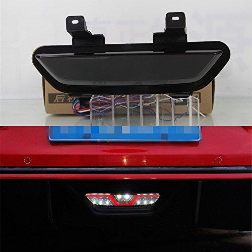 July King 1Pc White LED Reversing Light  Red Brake Lights  Red Night DRL for Ford Mustang 2015