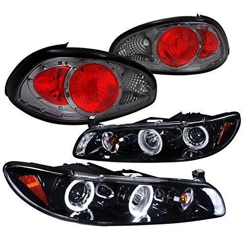 Pontiac Grand Prix Smoked Lens Halo Projector Headlights Smoked Tail Lights