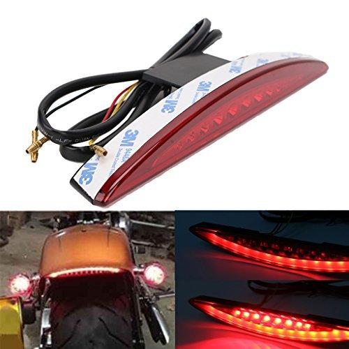 Rear Under Fender LED Brake Tail Light for Harley Breakout FXSB 2013-2017 RED Lens
